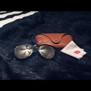 Ray Ban Ericka Mirrored Sunglasses